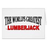 The World's Greatest Lumberjack Cards