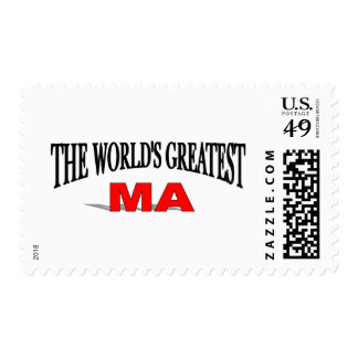 The World's Greatest Ma Postage Stamps