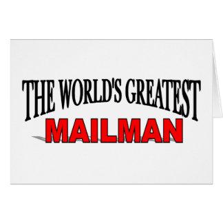 The World's Greatest Mailman Card