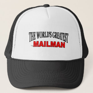 The World's Greatest Mailman Trucker Hat