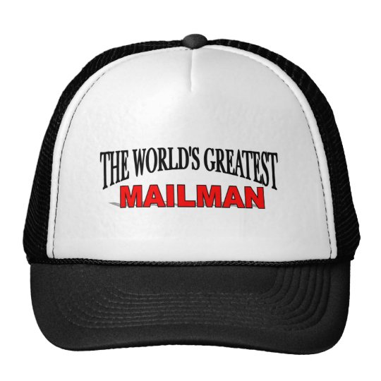 The World's Greatest Mailman Trucker Hat