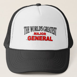 The World's Greatest Major General Trucker Hat