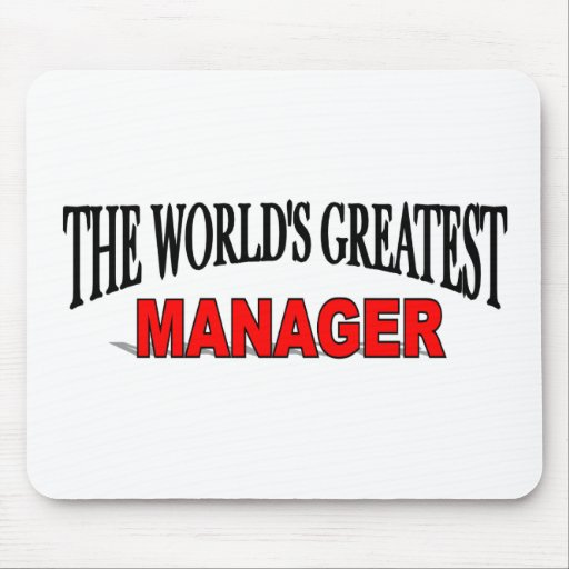 The World's Greatest Manager Mouse Pad