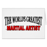 The World's Greatest Martial Artist Card