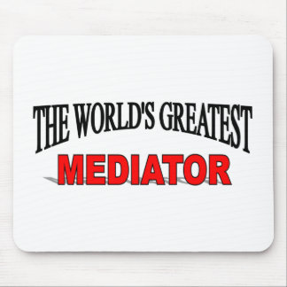The World's Greatest Mediator Mouse Pad