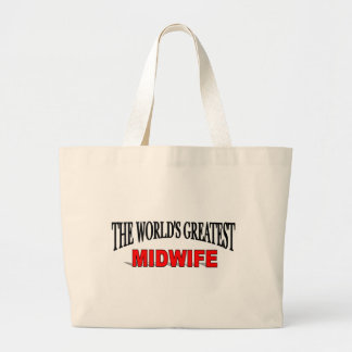 The World's Greatest Midwife Tote Bag