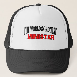 The World's Greatest Minister Trucker Hat