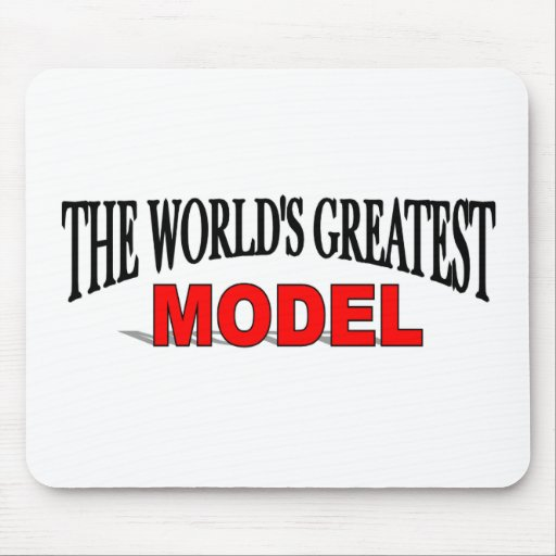 The World's Greatest Model Mouse Pads