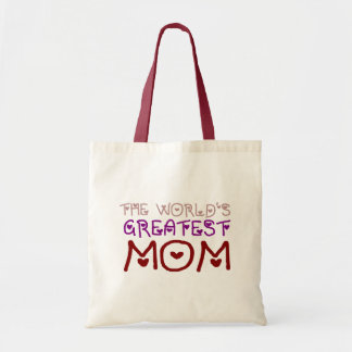 The World's Greatest Mom (Mother's Day & Birthday) Tote Bag