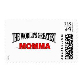 The World's Greatest Momma Stamp