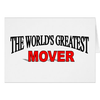 The World's Greatest Mover Card