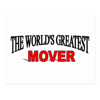 The World's Greatest Mover Postcard