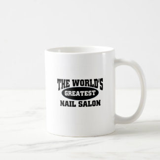 The world's greatest nail salon coffee mug
