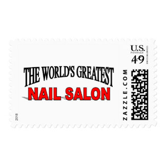The World's Greatest Nail Salon Postage Stamp