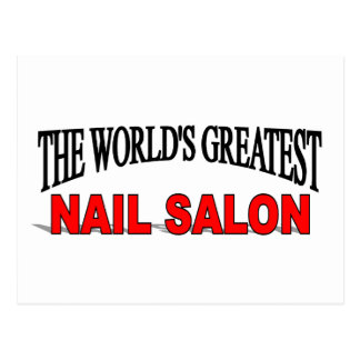 The World's Greatest Nail Salon Postcard