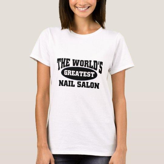 The world's greatest nail salon T-Shirt
