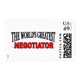 The World's Greatest Negotiator Stamps
