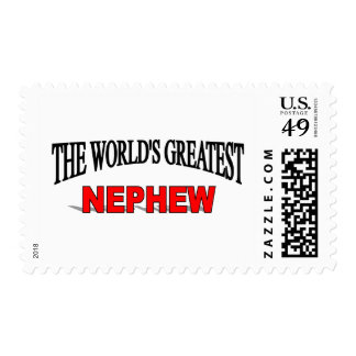 The World's Greatest Nephew Postage Stamp