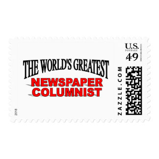 The World's Greatest Newspaper Columnist Stamps