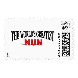 The World's Greatest Nun Postage