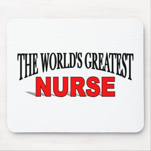 The World's Greatest Nurse Mouse Pad