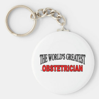 The World's Greatest Obstetrician Keychain
