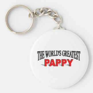 The World's Greatest Pappy Keychain
