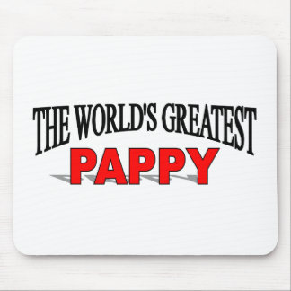 The World's Greatest Pappy Mouse Pad