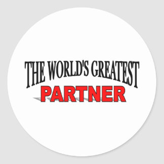 The World's Greatest Partner Stickers