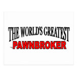 The World's Greatest Pawnbroker Post Card