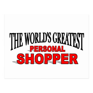 The World's Greatest Personal Shopper Post Cards