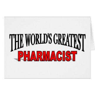 The World's Greatest Pharmacist Card
