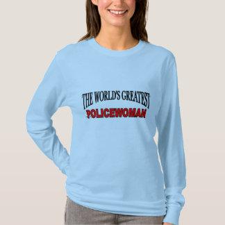 The World's Greatest Policewoman T-Shirt