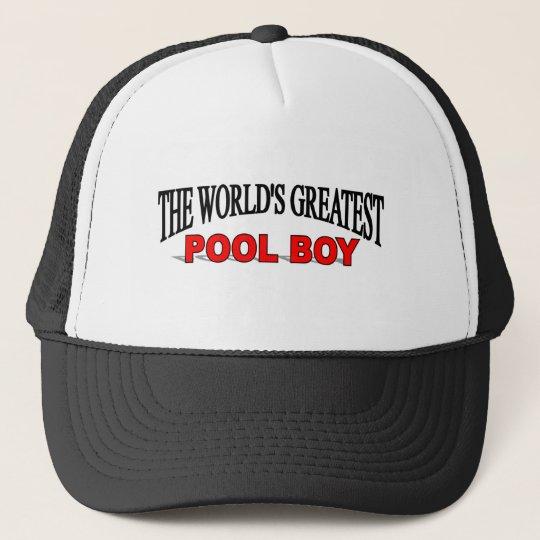 The World's Greatest Pool Boy Trucker Hat