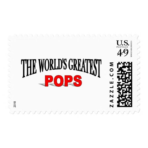 The World's Greatest Pops Stamp