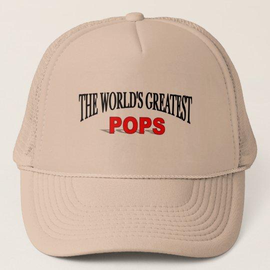 The World's Greatest Pops Trucker Hat