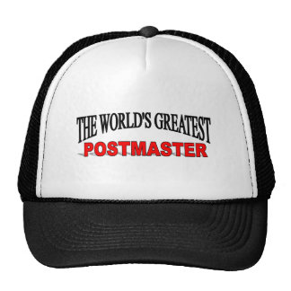 The World's Greatest Postmaster Trucker Hat