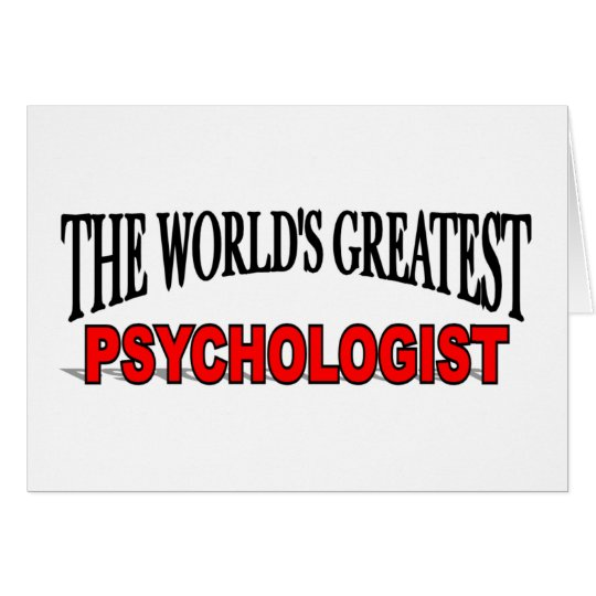 The World's Greatest Psychologist Card
