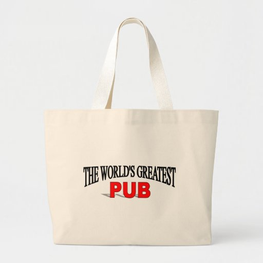 The World's Greatest Pub Tote Bags