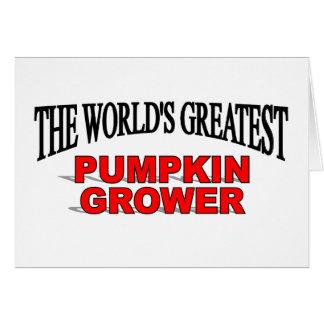 The World's Greatest Pumpkin Grower Card