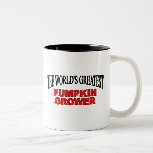 The World's Greatest Pumpkin Grower Mugs