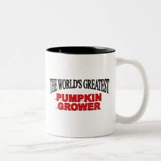 The World's Greatest Pumpkin Grower Two-Tone Coffee Mug