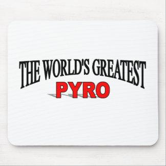 The World's Greatest Pyro Mouse Pad