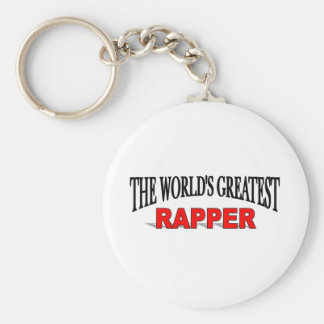 The World's Greatest Rapper Key Chains