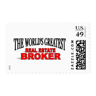 The World's Greatest Real Estate Broker Postage Stamps
