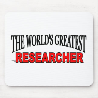 The World's Greatest Researcher Mouse Pad