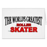 The World's Greatest Roller Skater Card