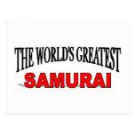 The World's Greatest Samurai Post Cards