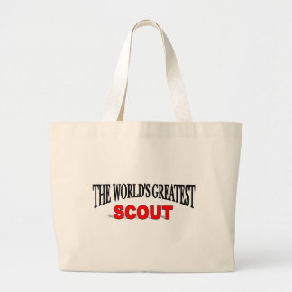 The World's Greatest Scout Canvas Bag
