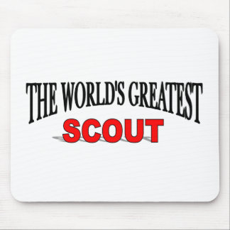 The World's Greatest Scout Mouse Mat